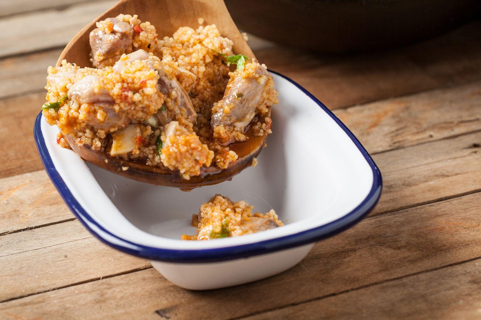 receta de cuscus de pollo