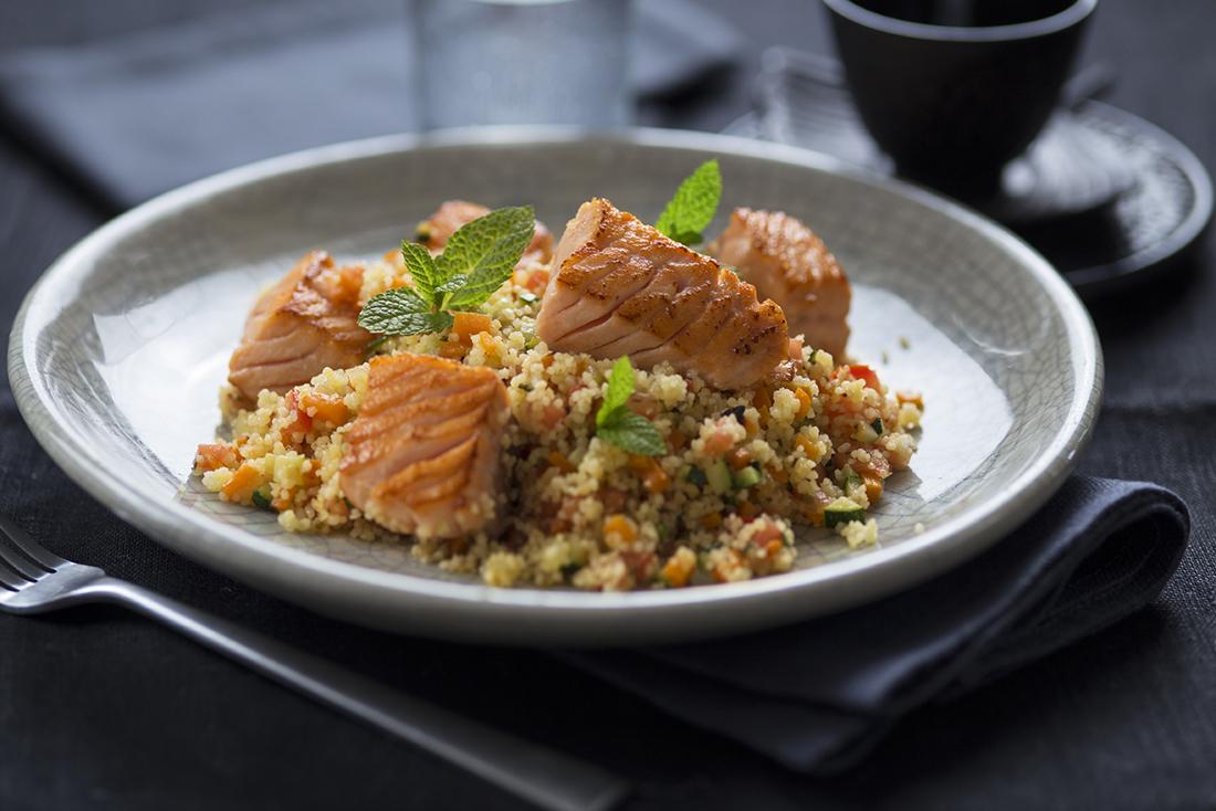 receta de cuscus de salmon
