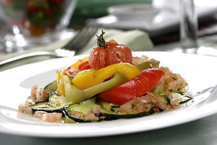 receta de ensalada de verduras asadas