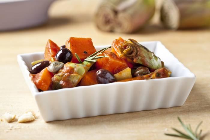 receta de menestra de verduras con tomate
