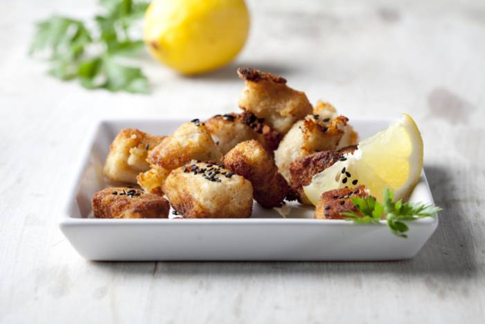 receta de bocados de bacalao al horno