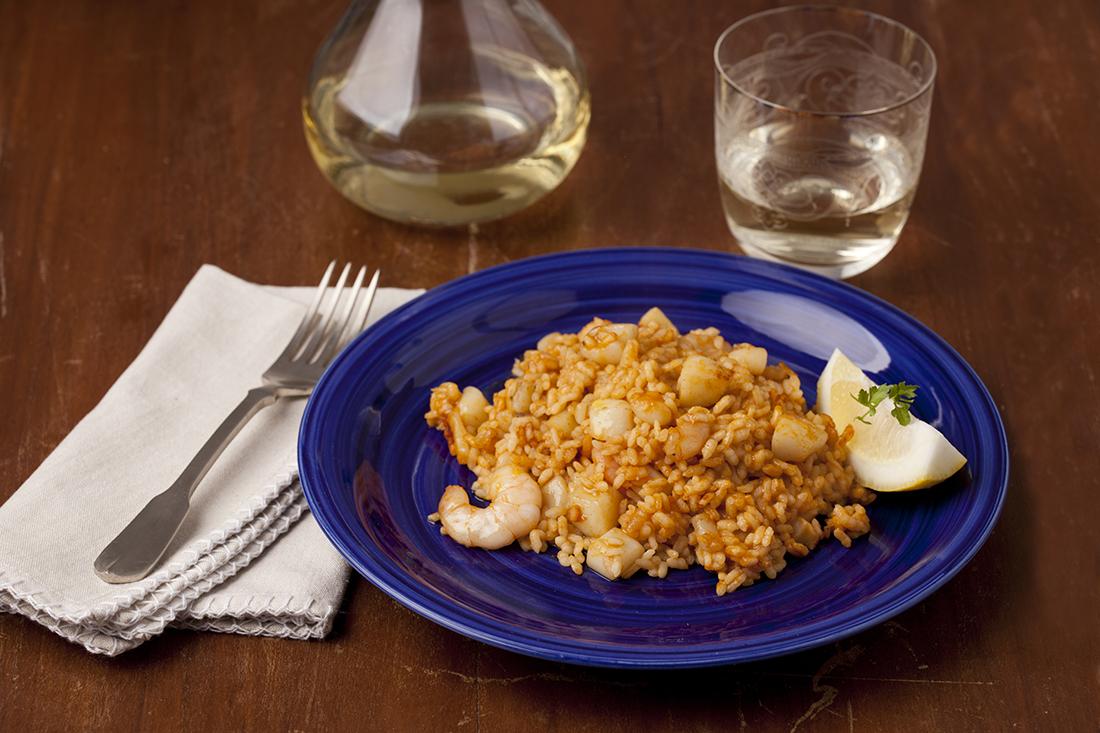 receta de arroz a banda-rapido