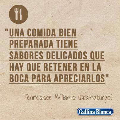 Frases Célebres De Cocina Gallina Blanca
